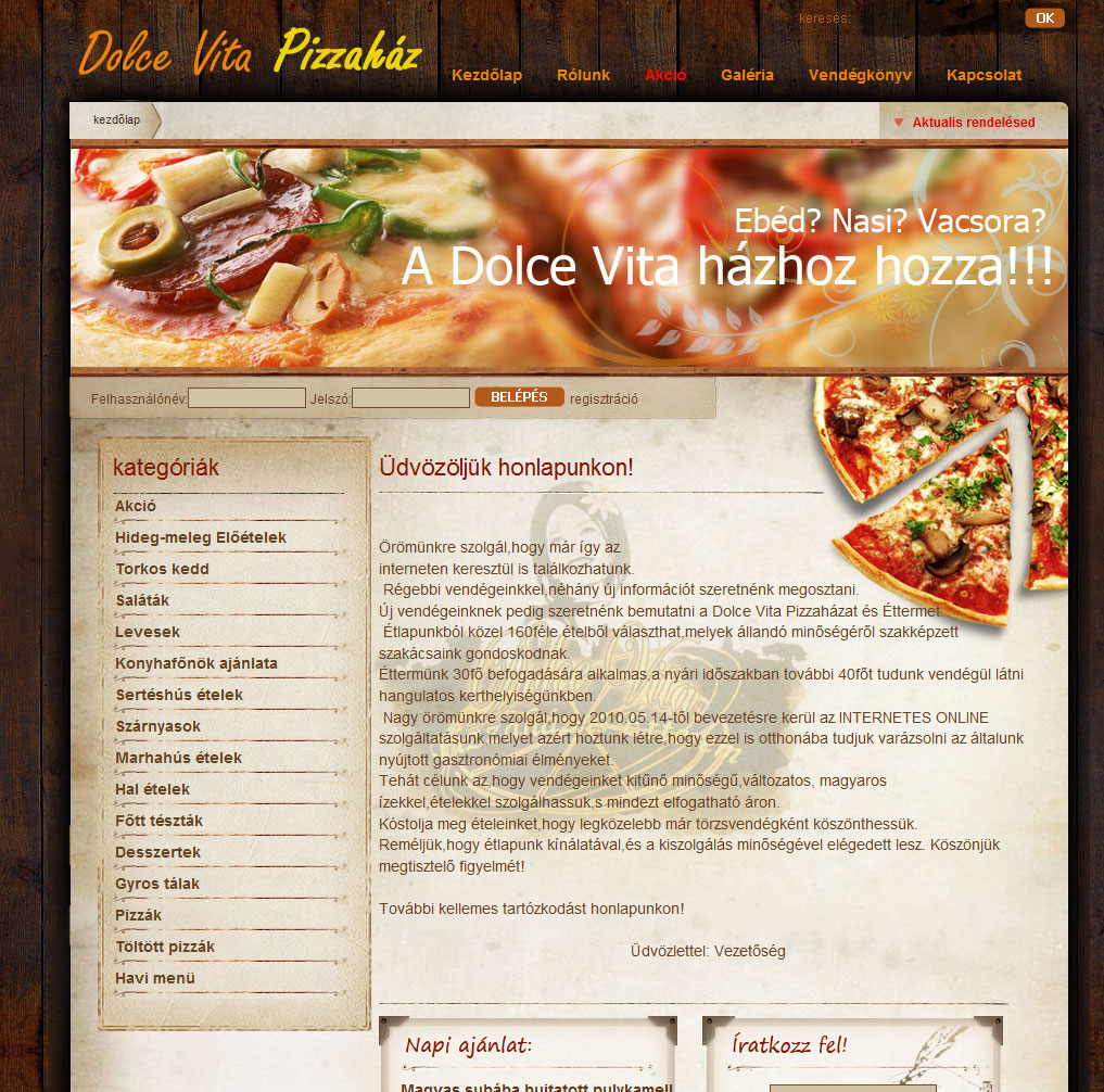 Dolce Vita Pizzéria