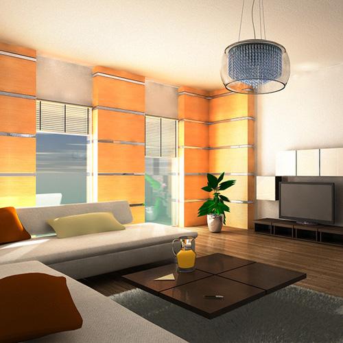 3D szoba rendering
