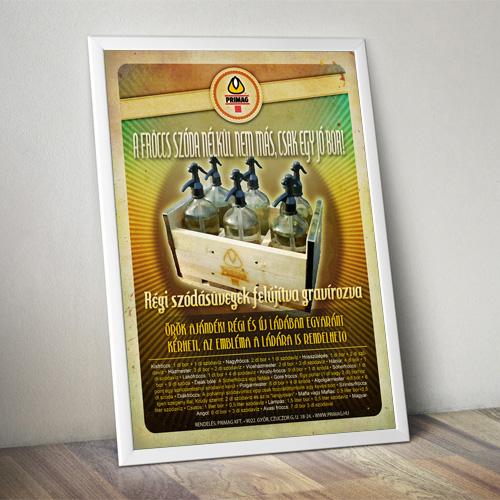 Szódásüveg – Plakát